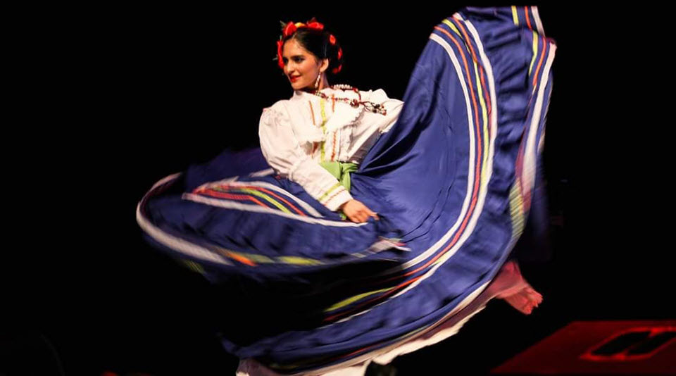 Oro Lenca dancer in telethon.